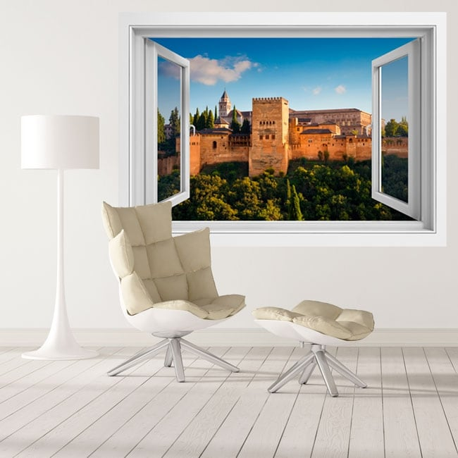 Decorative vinyl the alhambra nasrid palaces 3d