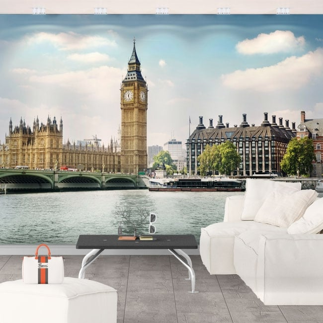 Vinyl wall murals big ben london