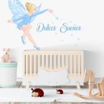 Children's decorative vinyl magic fairy
