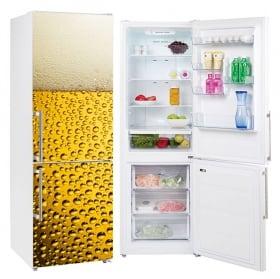 Decorative vinyl refrigerators ice cubes