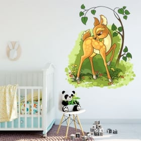 Decorative vinyl children bambi