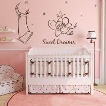 Children's decorative vinyl angel sweet dreams