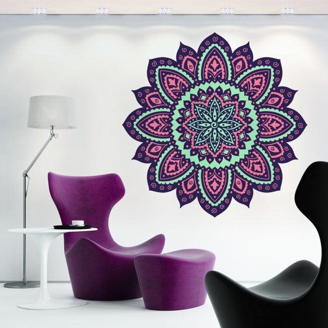 Decorative vinyl mandala to decorate