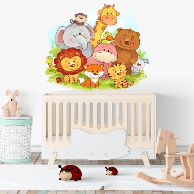 Vinyl for baby children's animals