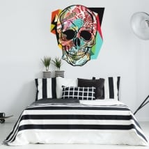Stickers and vinyls of skulls