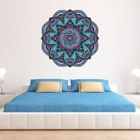 Decorative vinyl mandala to decorate