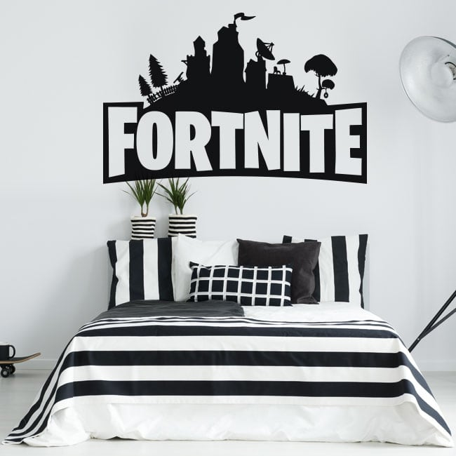 Decorative vinyl and fortnite stickers