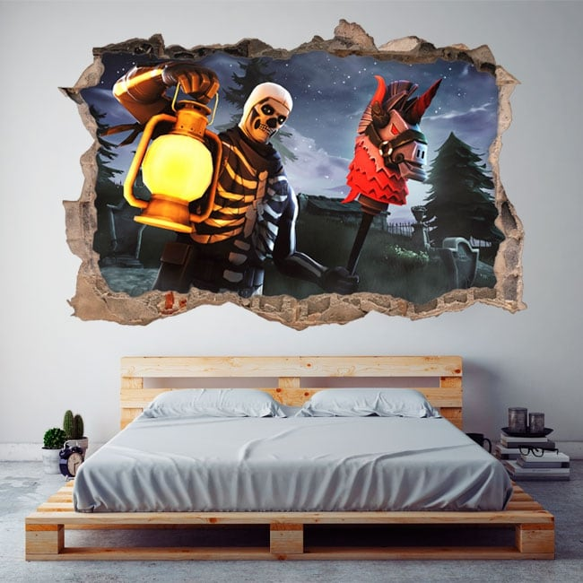 Decorative vinyl fortnite 3d