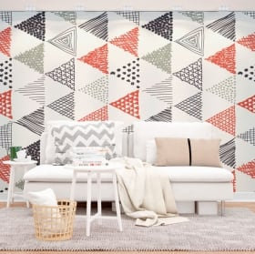 Wall murals nordic or scandinavian decoration