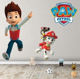 Vinyl rubble chase and marshall the paw patrol