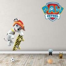 Children's vinyl marshall paw patrol