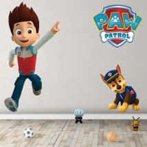Children's vinyl chase the paw patrol