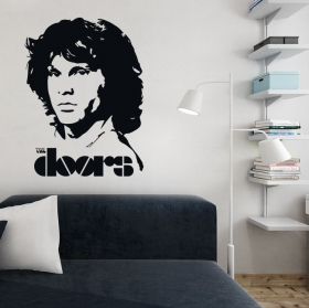 Decorative vinyl jim morrison the doors