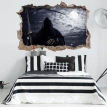 Wall stickers 3d death