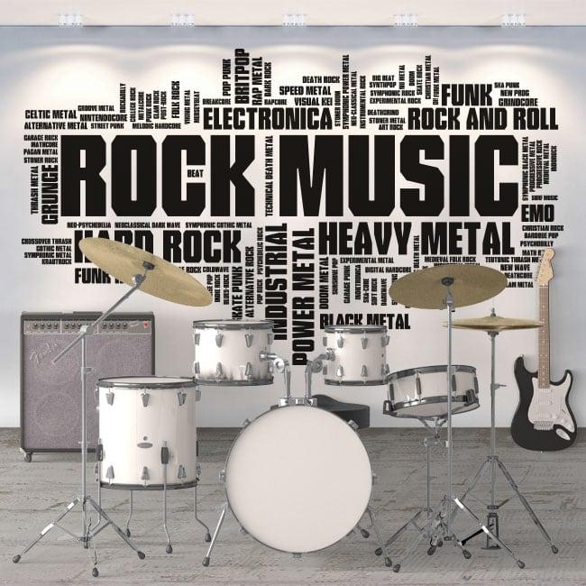 Decorative vinyl and music stickers