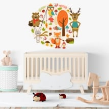 Vinyl baby children's animals