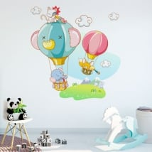 Decorative vinyl and stickers children's adventures