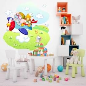 Decorative vinyl and stickers children's adventures