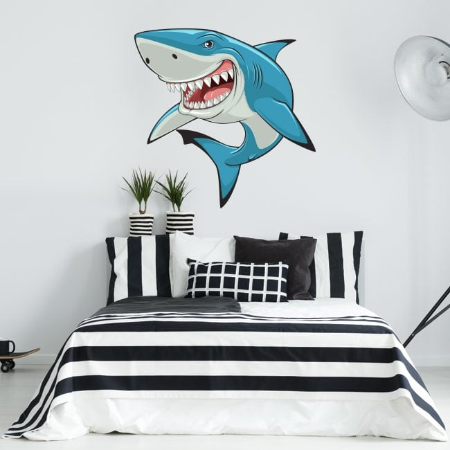 Stickers and decorative vinyls shark