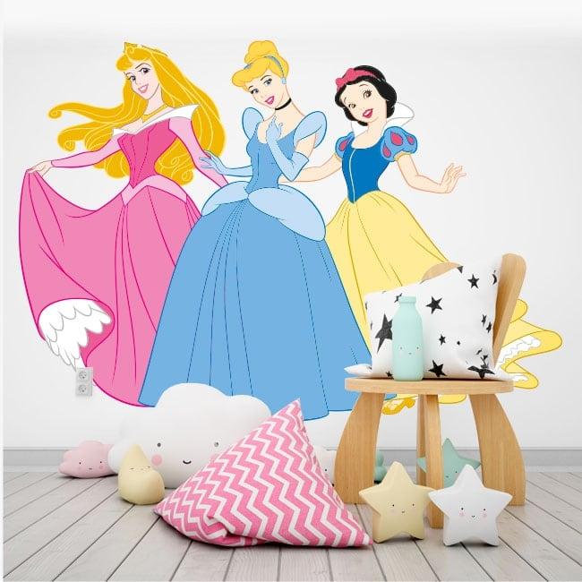 Vinyl and stickers disney princesses