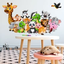 Stickers and decals children's animals