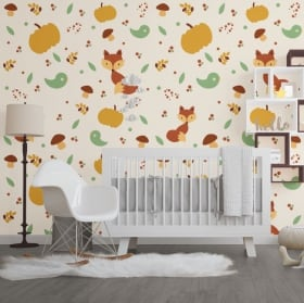 Vinyl wall murals children's animals