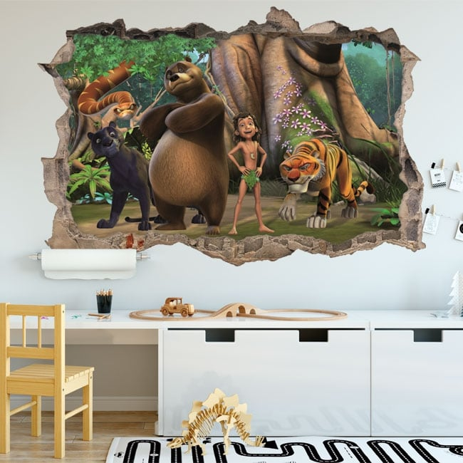 Wall mural the jungle book 3d