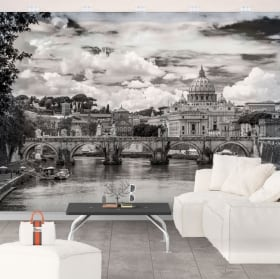 Vinyl wall murals big ben london