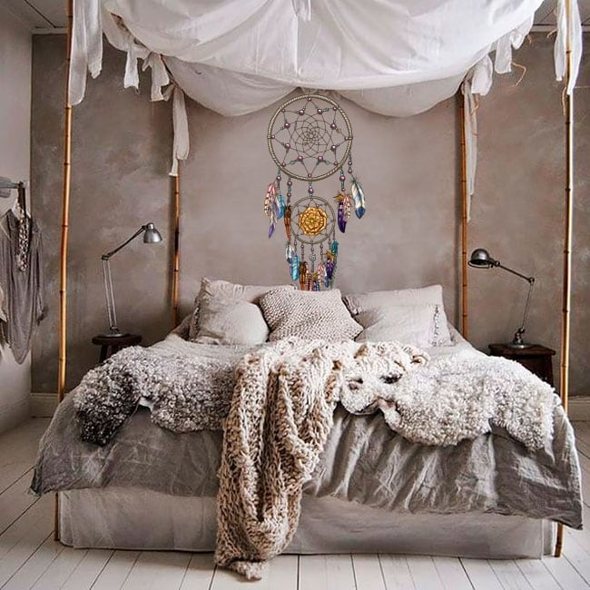 Dreamcatcher wall decals