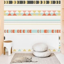Vinyl wall murals boho style decoration