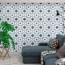 Photo murals vinyls walls nordic style decoration