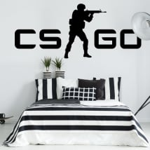 Adhesive vinyl and stickers counter strike cs go