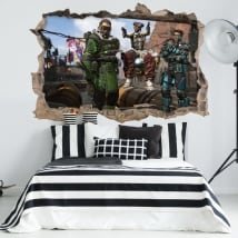 Vinyl and wall stickers apex legends 3d