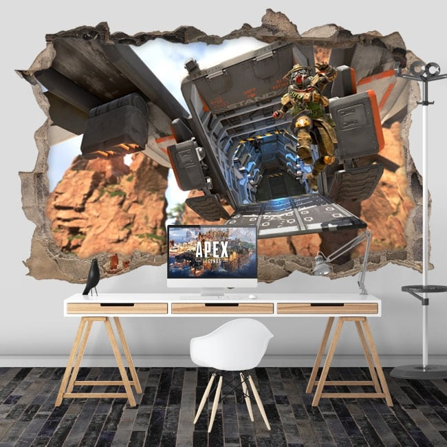Vinyl walls apex legends 3d