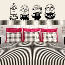 Decorative vinyl and stickers the minions