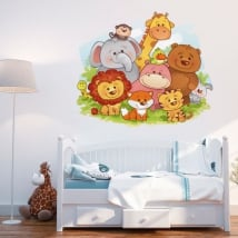 Decorative vinyl children's animals for babies