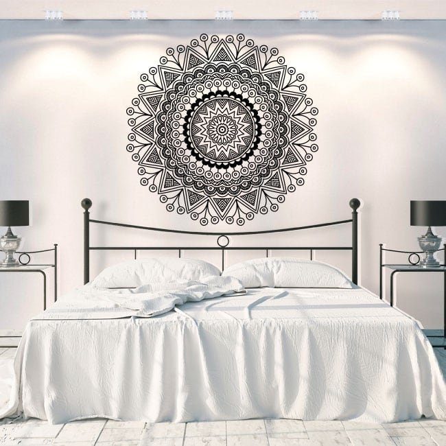 Vinyl and stickers mandalas to decorate