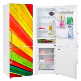Vinyl refrigerators fan of colors