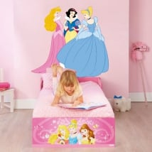 Decorative vinyl disney princesses