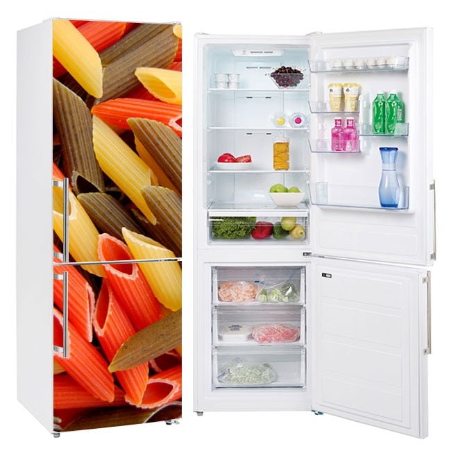 Vinyl and stickers refrigerators macaroni