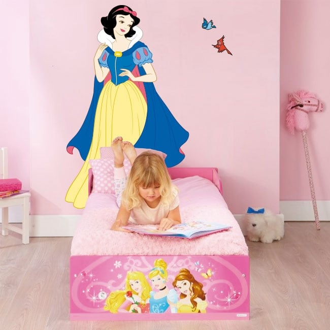 Decorative vinyl disney snow white princess
