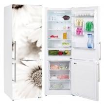 Vinyl and stickers refrigerators daisy flowers