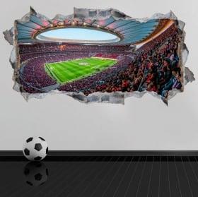 Vinyle 3d wanda metropolitano atlético de madrid stadium