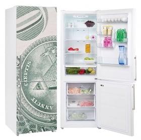 Decorative vinyl refrigerators united states dollar
