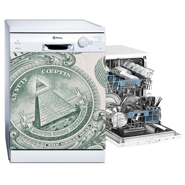 Decorative vinyl dishwasher united states dollar