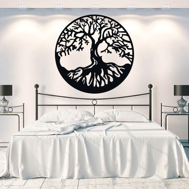 Vinyl and stickers tree of life