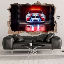 Decorative vinyl 3d motogp bmw m2 safety car