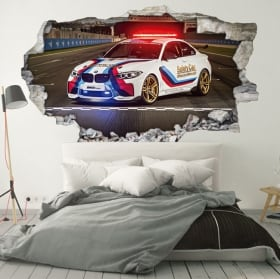 Vinyl and stickers 3d motogp bmw m2 safety car