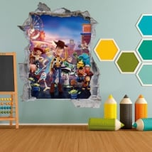 Vinyl children and youth 3d toy story 4