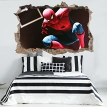 Vinyl 3d spiderman or spider man